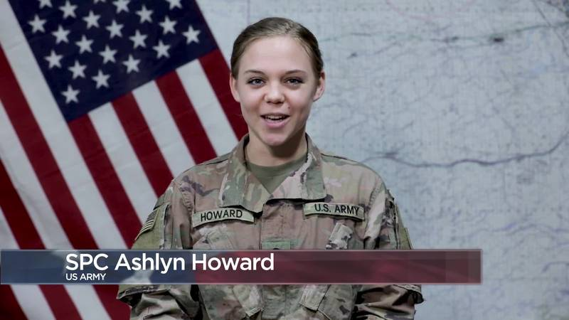 Military Greetings - Spc. Ashlyn Howard