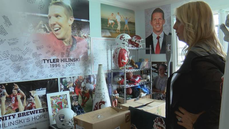 His family is keeping Tyler Hilinski's memory alive by raising awareness about mental health.