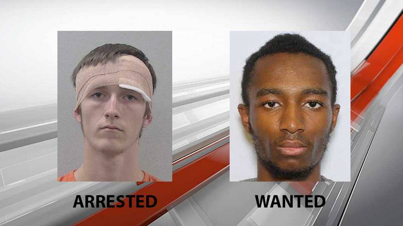 Patrick Prewitt (left) and Roosevelt Garway Jr. (right) are both suspects in the drive-by...