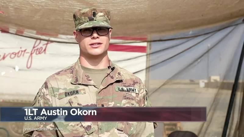 Military Greetings 2020: 1st Lt. Austin Okorn