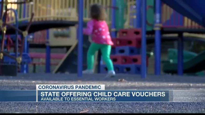 VIDEO: Child care vouchers available for essential workers