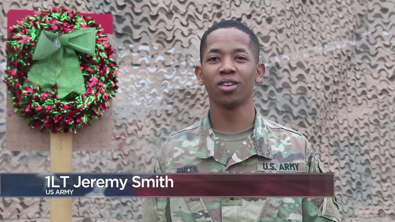 Military Greetings - 1st Lt. Jeremy Smith