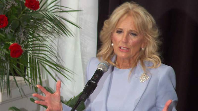 First Lady Jill Biden celebrates Midlands pastor's 50th anniversary in Cayce