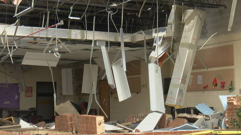 Damage estimates 'well into the millions' as tornado clean up continues