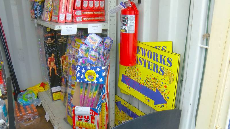 With so many major fireworks displays canceled plenty of people are now looking to make their...
