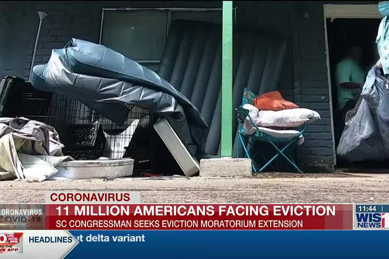 Congressman Clyburn pushes for moratorium extension as millions face possible evictions
