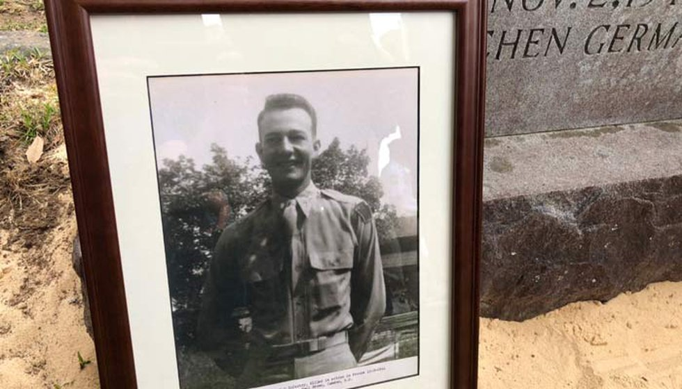 Lt. Frank DuBose was 24 when an artillery attack killed him instantly on Nov. 2, 1944. Anthony...