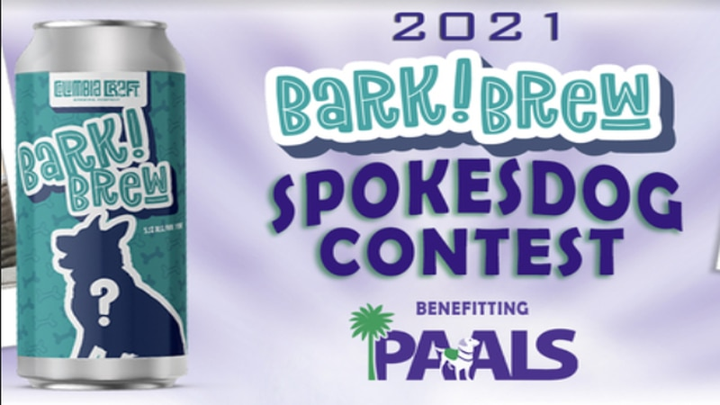 'Bark Brew spokesdog' fundraiser benefitting PAALS puts one lucky dog on a beer can