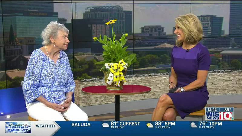 Today on WIS TV Midday, Jeanette Smith shared the excitement of bringing beauty from ashes.