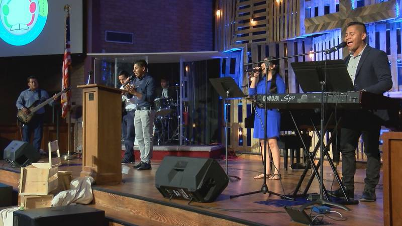 The congregations came together to prayer in the wake of a violent armed robbery at Centro...