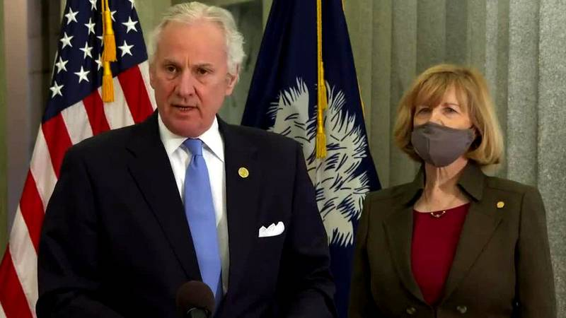 Henry McMaster and Molly Spearman