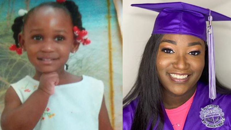 Yasmin Friday never missed a single day of school all the way from day one to graduation.