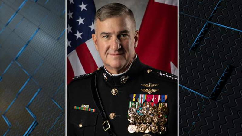 US Marine Corps Retired Gen. Glenn Waters, a four-star general, will be inaugurated at 2 p.m....