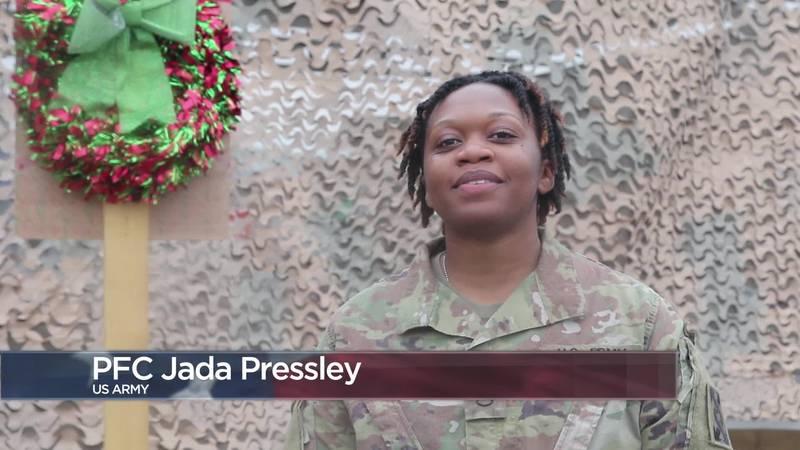 Military Greetings - Pfc. Jada Pressley