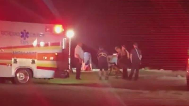 It happened near Susie Ebert Island around 10:30 p.m. Friday but crews were on the scene until...