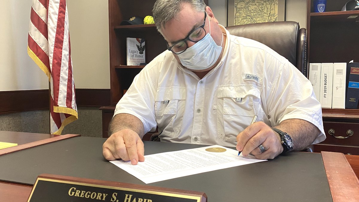 Habib signed the emergency proclamation at 5 p.m. Monday at City Hall.  The proclamation calls...