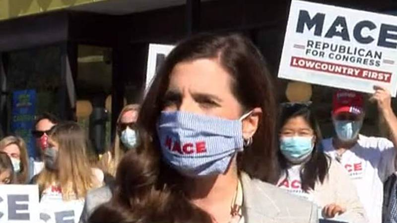 U.S. Rep.-Elect Nancy Mace, declared the winner of the U.S. First Congressional District Race...