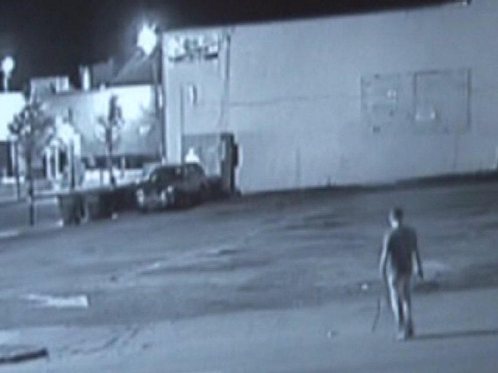 A still frame from surveillance video caught behind Groucho's (Source: Five Points Association)