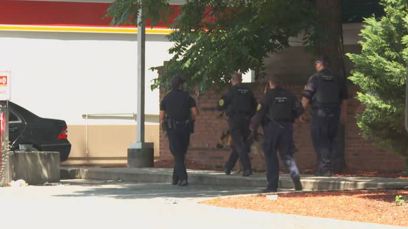The shooting happened around 10:30 a.m. at Elmwood Avenue and Park Street in downtown Columbia.