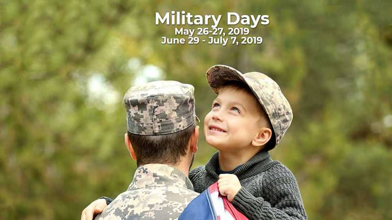 Carowinds has announced a number of military-focused discounts that both active service members...