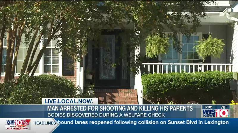Columbia man accused of shooting parents to death in Lexington County