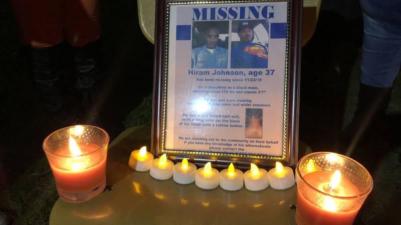 Authorities say Hiram Johnson was last seen Friday, Nov. 23, 2018, near his Branchville home.