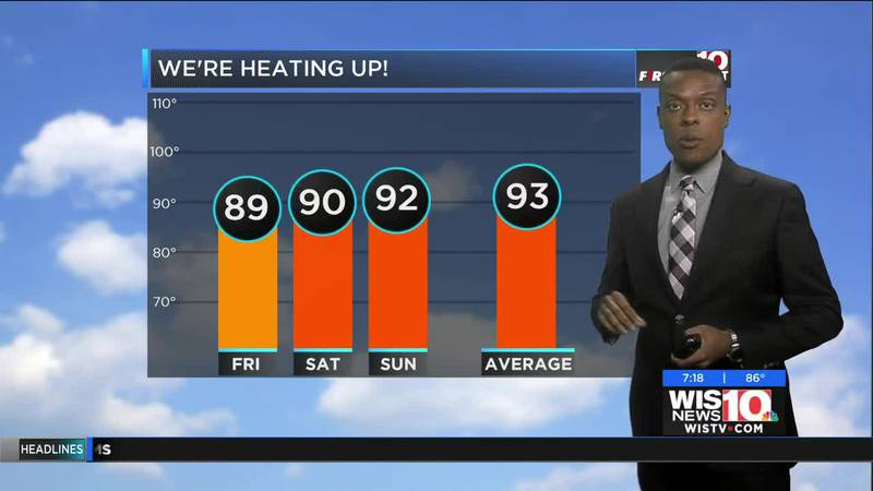 Dominic Brown's July 25 evening forecast