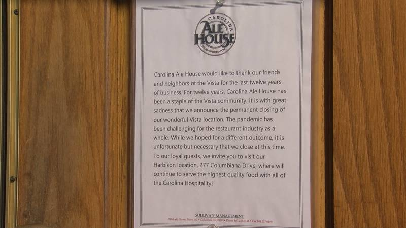 SC hospitality industry leaders anticipate several restaurants, hotels will permanently close...