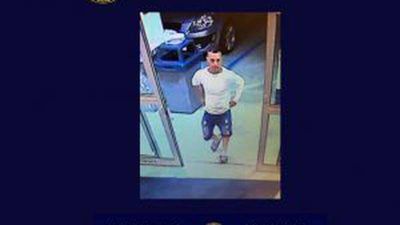 The pictured suspect was reportedly in possession of one of four vehicles stolen from a tractor...