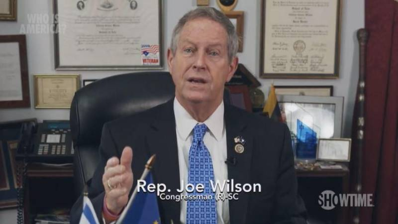 A South Carolina politician implies toddlers should be armed. It was a trick Congressman Joe...