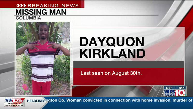 Columbia Police searching for 28-year-old reported missing