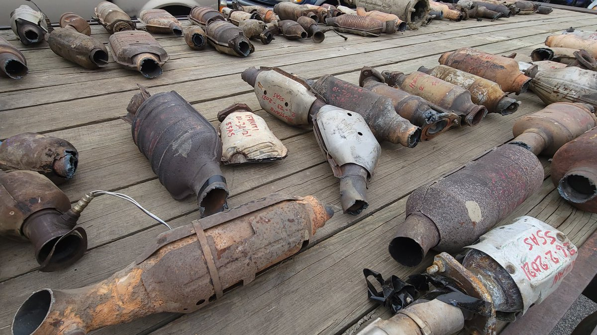 Lexington man arrested for stealing more than 80 catalytic converters