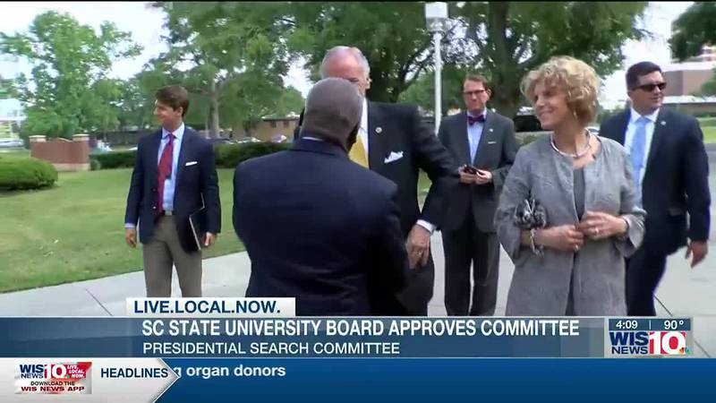 SC State University Board approves presidential search committee