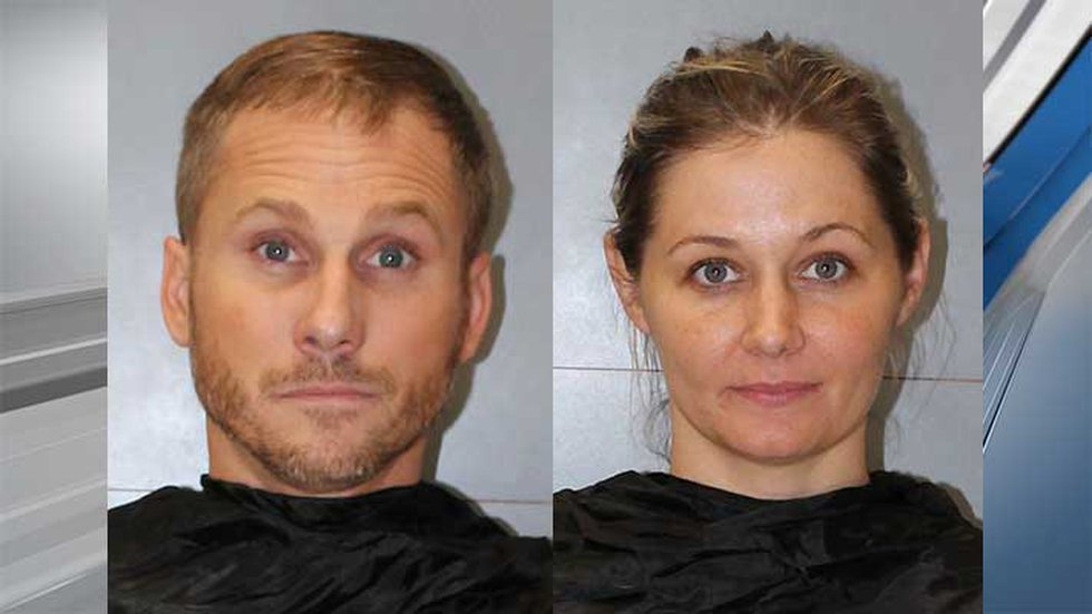 John and Krystal Kingkade face robbery and assault charges in the attack that was partly caught...