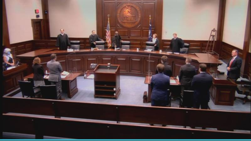 The South Carolina Supreme Court heard arguments over Governor Henry McMaster's decision to end...