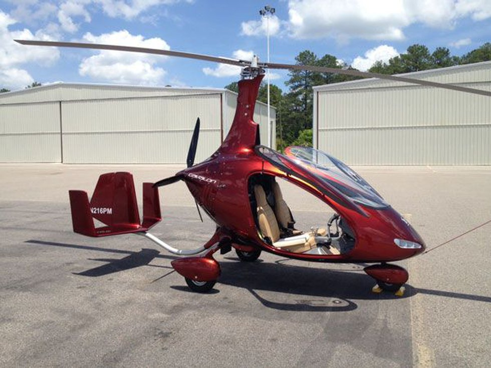 This gyrocopter could be helping patrol the skies of Columbia soon.