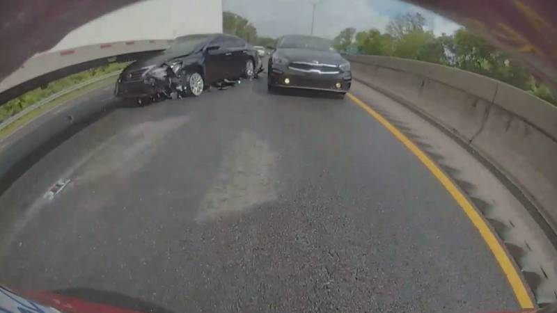 Tesla owner Ben O'Morrow said he was traveling down I-77 toward Pineville Monday when he...