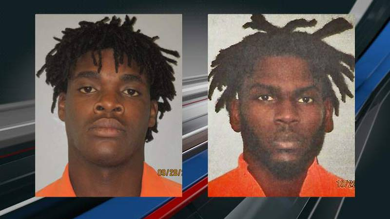 Trevor Raekwon Seward, 22, and Jerome Terrell Davis, 28, both of Andrews, are two of three...