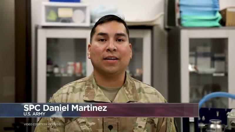 Military Greetings 2020: Spc. Daniel Martinez