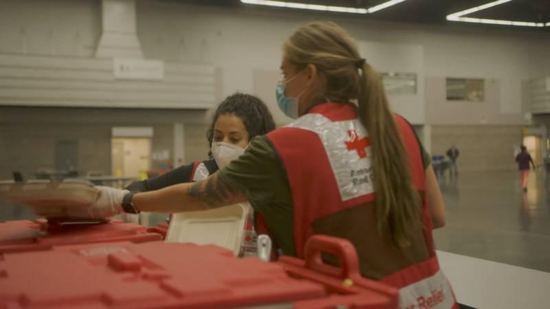 SC Red Cross volunteers