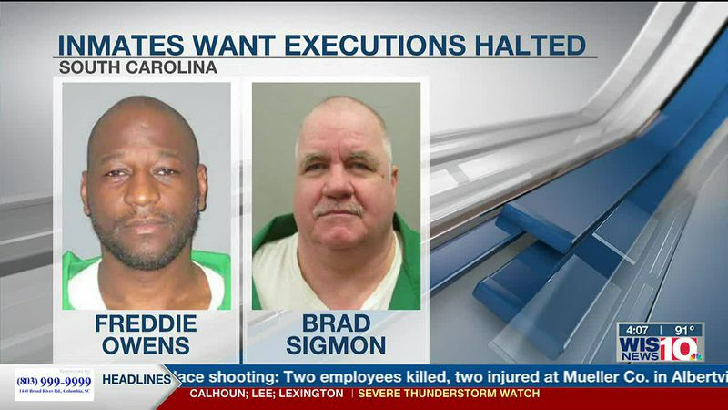 South Carolina inmates to appeals court: Halt electrocutions