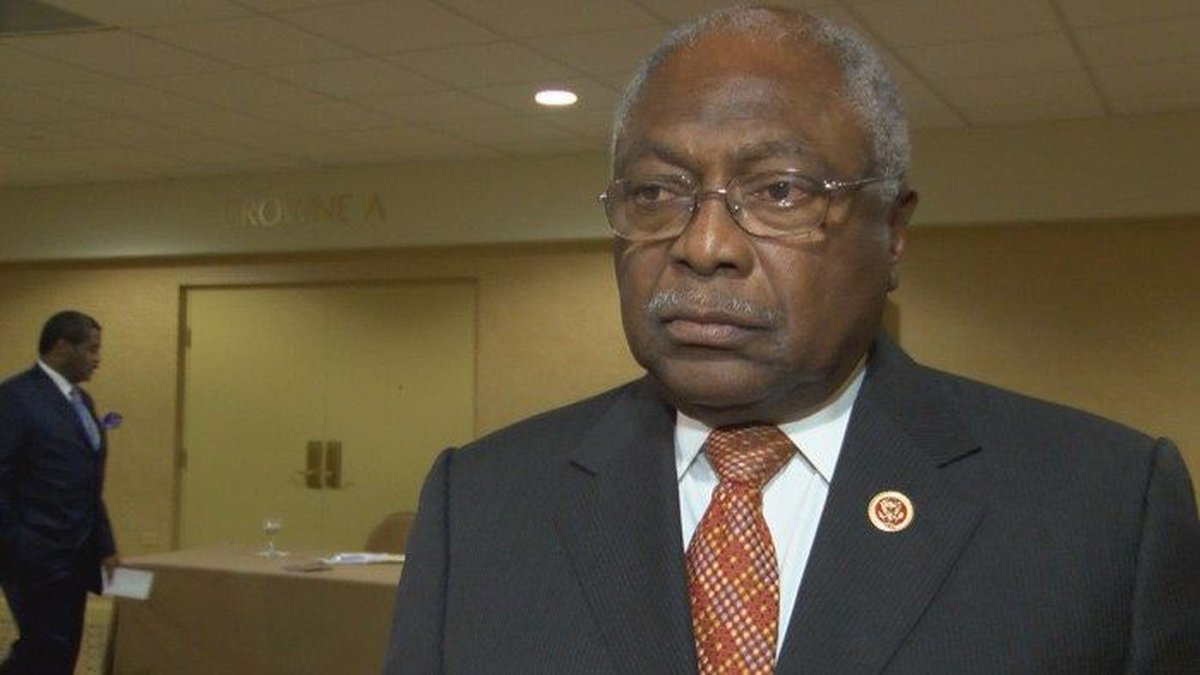 The keynote speaker at the Freedom Fund Banquet was U.S. Representative James E. Clyburn of...