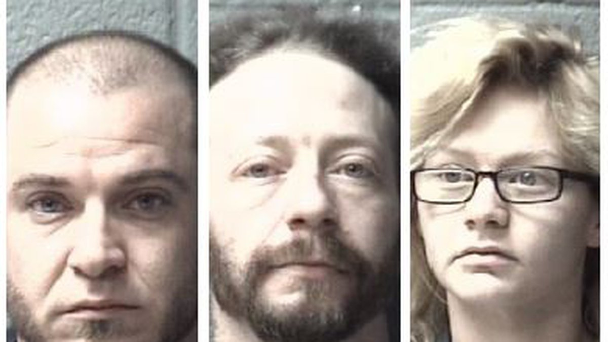Claude Stimson (far-left), Christopher Sible (center), Olivia Forbes (far right) (Source: OCSO)
