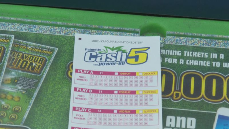 The winning ticket matched all five numbers of the Palmetto Cash 5 drawing Monday and had a...