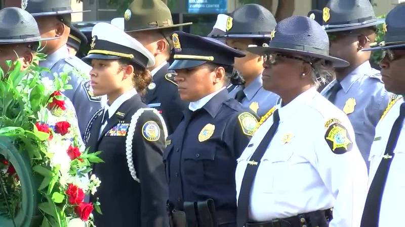 South Carolina Midlands first responders and military service members were honored during a...