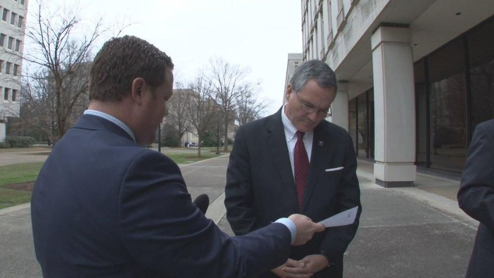 We hand-delivered an open records request to House Speaker Bobby Harrell on the first day of...