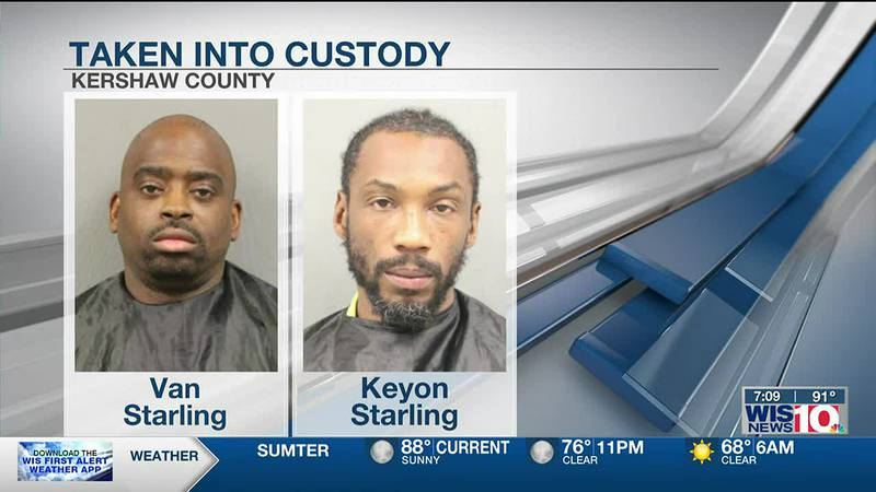 Two men arrested in connection with attempted murder in Kershaw County