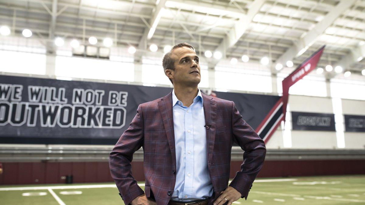 South Carolina head football coach Shane Beamer