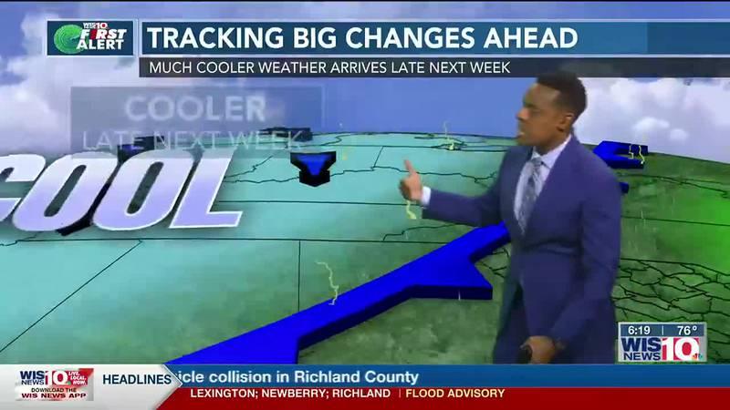 Dominic Brown's September 17th Forecast