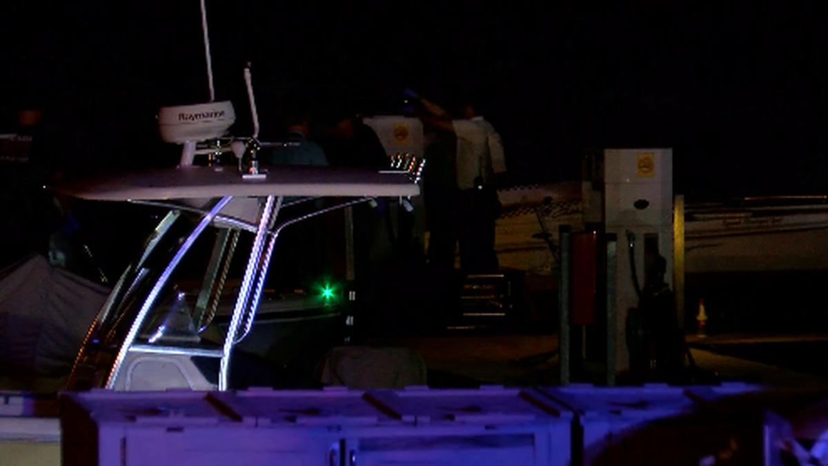 The deadly crash happened Saturday night on Lake Murray between Rusty Anchor restaurant and...